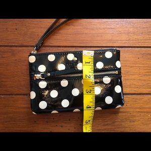 kate spade Bags - Kate Spade ♠️ polka dot wristlet